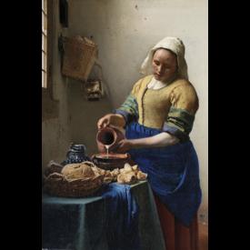 Johannes Vermeer - Het Melkmeisje Maxi Poster