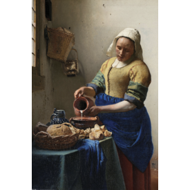 Johannes Vermeer - La Trayeuse Maxi Poster