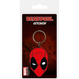 Deadpool Face - Keyring