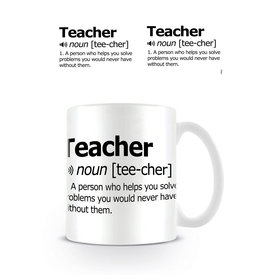 Teacher Dictionary Mug
