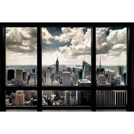 New York Window View