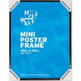 Frame 40x50cm Black Plastic
