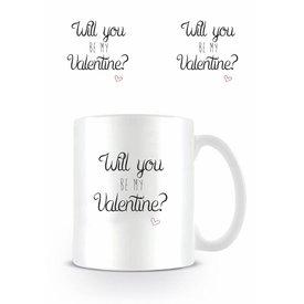 Will You Be My Valentine - Mug
