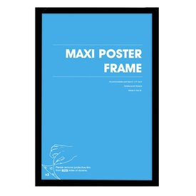 Frame 61x91,5 MDF Black
