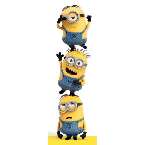 Despicable Me 3 Minions - Door Poster