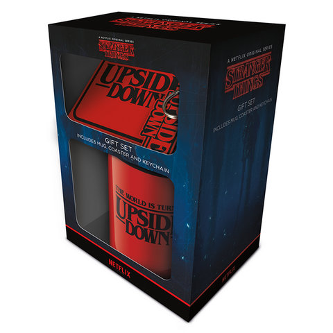 Stranger Things The World Is Turning Upside Down - Coffret cadeau