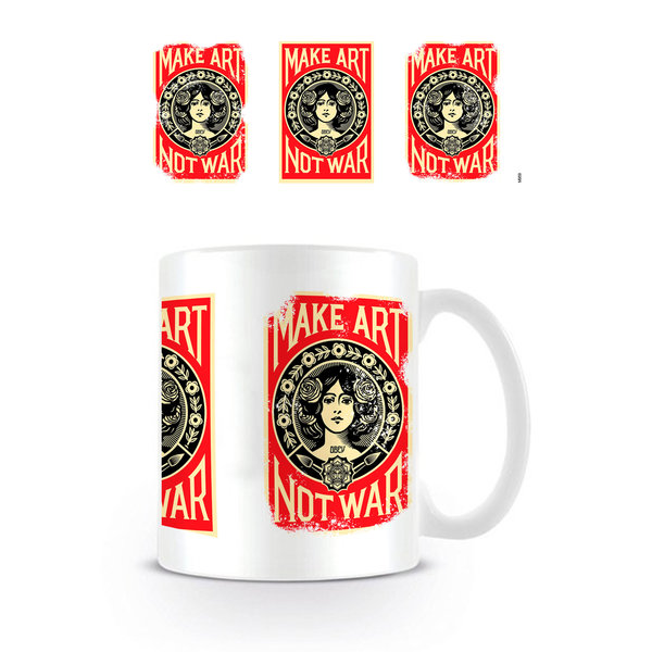 Make Art Not War 3 Posters - Mug