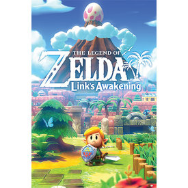 The Legend of Zelda Links Awakening Maxi Poster