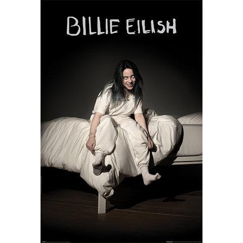 Billie Eilish When We All Fall Asleep Where Do We Go Maxi Poster