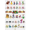 Super Mario Character Parade Maxi Poster