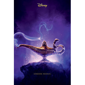 Aladdin Movie Choose Wisley Maxi Poster