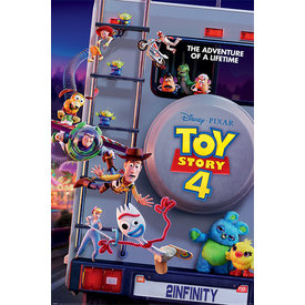 Toy Story 4 Adventure of a Lifetime Maxi Poster
