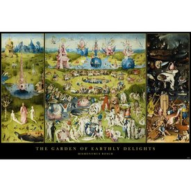 Garden of Earthly Delights Hieronymus Bosch Maxi Poster