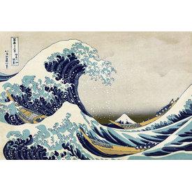 Great Wave of Kanagawa Maxi Poster