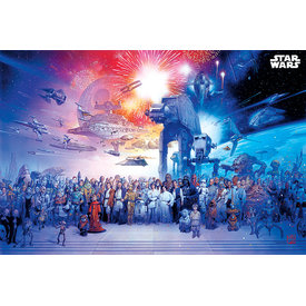 Star Wars Universe Maxi Poster