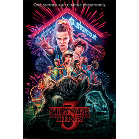 Stranger Things Summer of 85 Maxi Poster