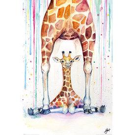 Marc Allante Gorgeous Giraffes Maxi Poster