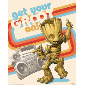 Guardians of the Galaxy Vol. 2 Get your Groot on Mini Poster