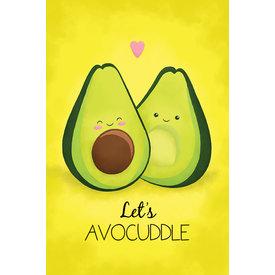 Let's Advocuddle Maxi Poster