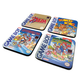 Gameboy Classic Collection Onderzetters Set 4