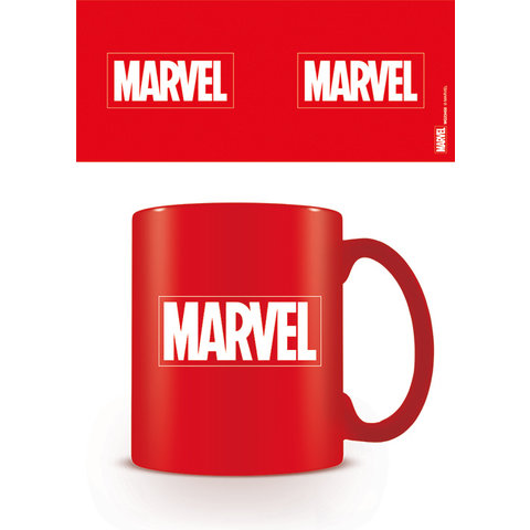 Marvel Logo Coloured Mug