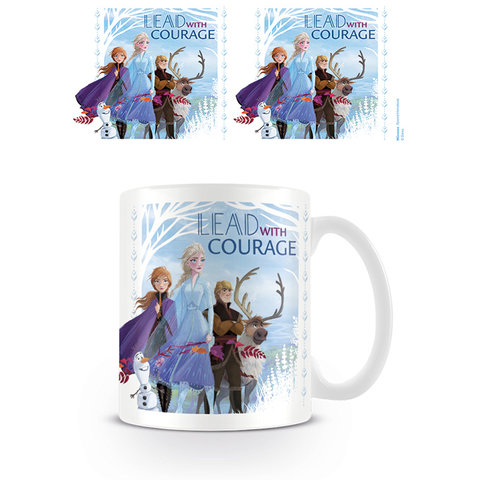 Frozen 2 Lead With Courage Mug