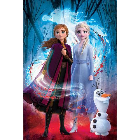 Frozen 2 Guided Spirit Maxi Poster
