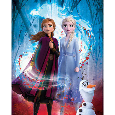 Frozen 2 Guiding Spirit Mini Poster