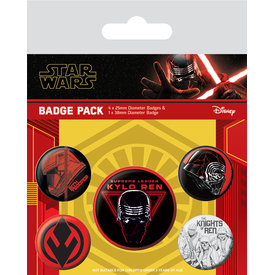 Star Wars: The Rise of Skywalker Sith Badge Pack