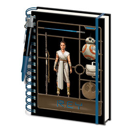 Star Wars: The Rise of Skwalker Airfix Rey A5 Notebook