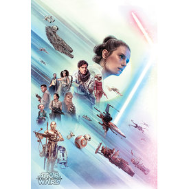Star Wars: The Rise of Skywalker Rey Maxi Poster