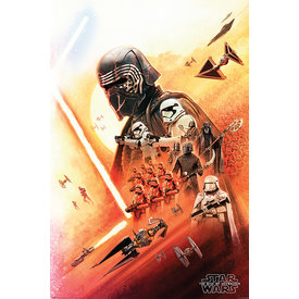 Star Wars: The Rise of Skywalker Kylo Ren Maxi Poster