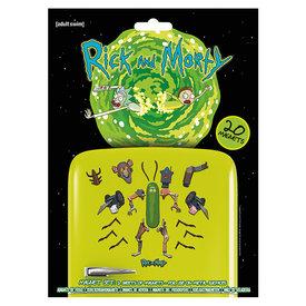 Rick and Morty Weaponize the Pickle Aimants de Frigo