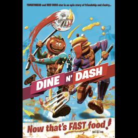 Fortnite Dine n' Dash Maxi Poster