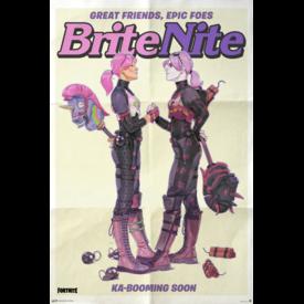 Fortnite Brite Nite Maxi Poster