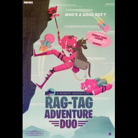 Fortnite Rag-Tag Adventure Duo Maxi Poster