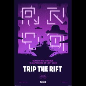 Fortnite Trip the Rift Maxi Poster