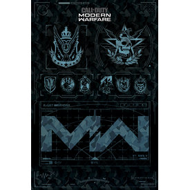 Call of Duty Modern Warfare Fractions Maxi Poster
