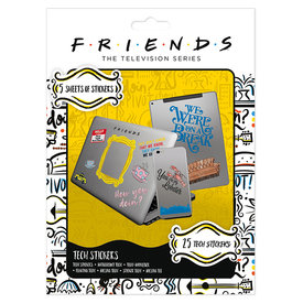 Friends How You Doin Tech Stickers