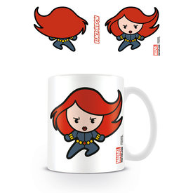 Marvel Kawaii Black Widow Mug