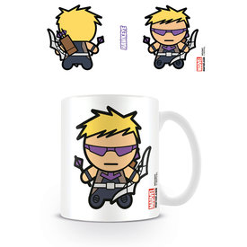 Marvel Kawaii Hawkeye Mug