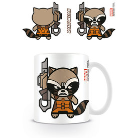 Marvel Kawaii Rocket Racoon Mug