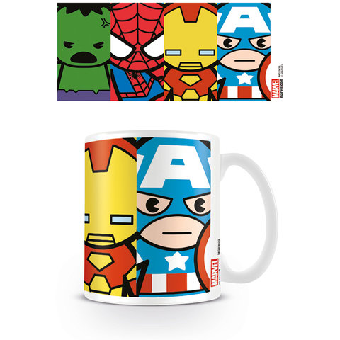 Marvel Kawaii Avengers Mug