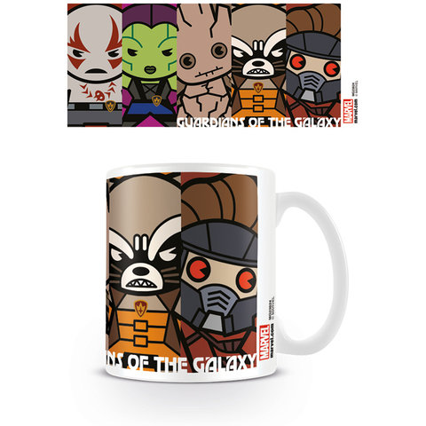 Marvel Kawaii Guardians Mug
