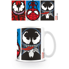 Marvel Kawaii Spider-Man Villians Mug