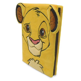 Disney The Lion King Simba Fluffy Premium A5  Notebook