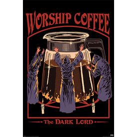 Steven Rhodes Worship Coffee Maxi Poster