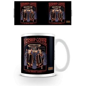 Steven Rhodes Worship Coffee Mok