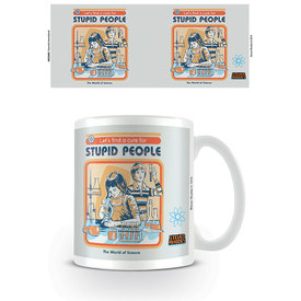 Steven Rhodes Let's Find A Cure For Stupid People Mug