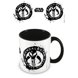 Star Wars The Mandalorian Sigil Coloured Mug